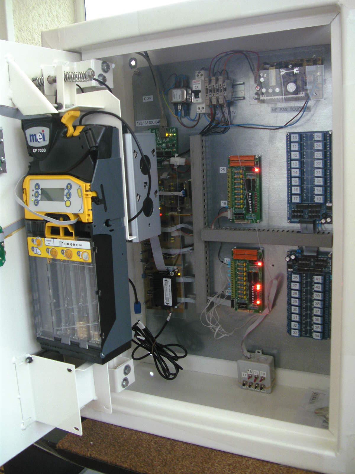 Centrale 32 machines