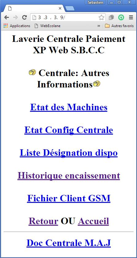 Fenetre info